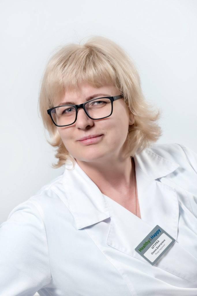 ШТУРБА Олена Дмитрівна